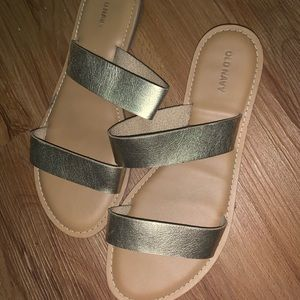 Sandals -worn once!